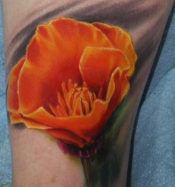 Tattoos - California Poppy - 66775