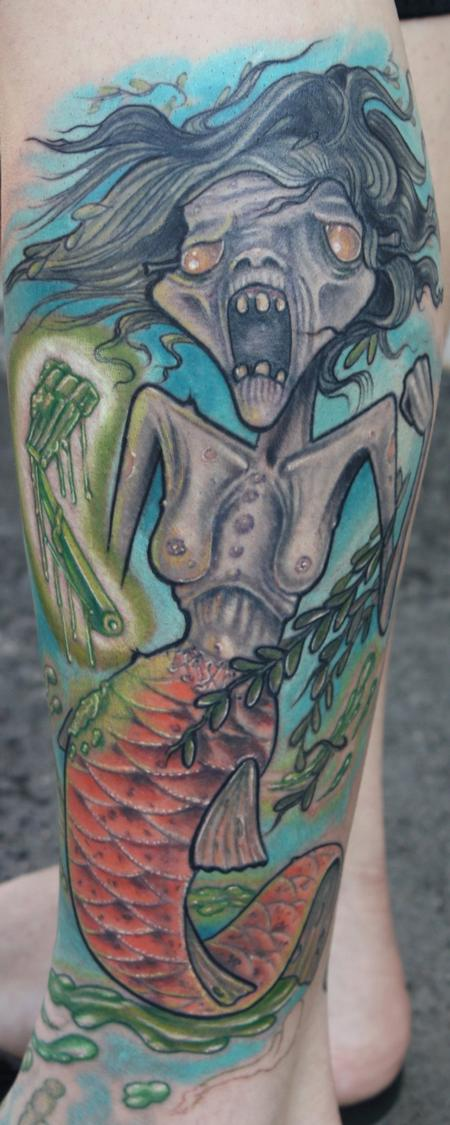 Tattoos - Fiji Mermaid - 66771