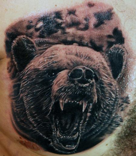 Tattoos - Grizzly Bear - 63072