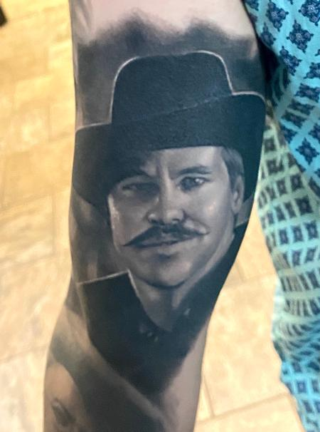 Tattoos - Doc Holliday tattoo - 141376