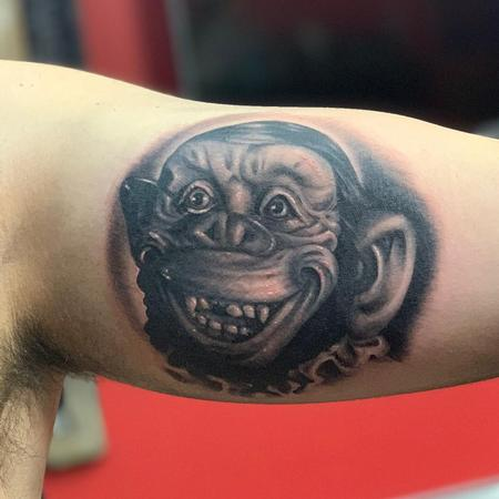 Tattoos - Monkey Tattoo - 137658