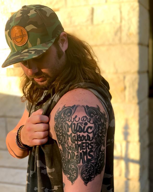 Music Makers Script Tattoo by Lefty Colbert: TattooNOW :