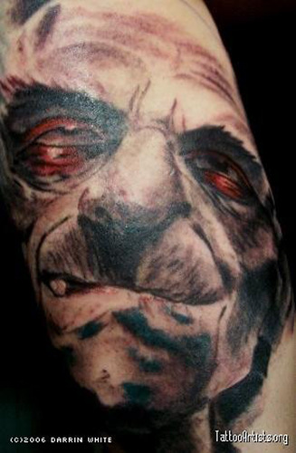Tattoos - HIllbilly Zombie - 21673