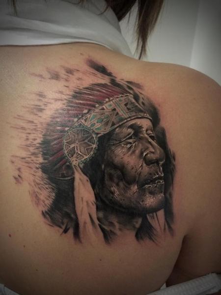 Tattoos - Native American - 97776