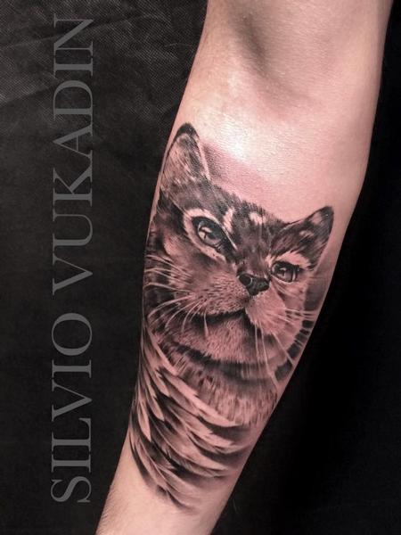 Tattoos - Cat portrait - 99553