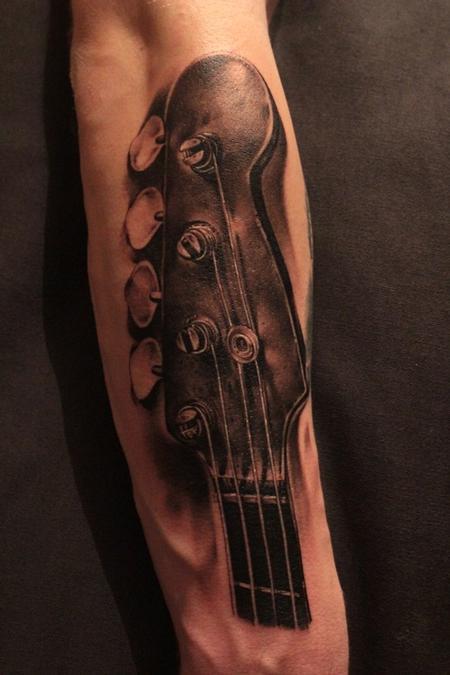 Tattoos - Bass guitar - 91303