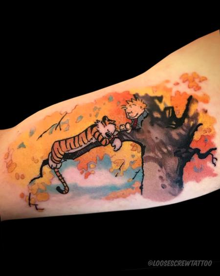 Tattoos - Calvin & Hobbes - 142326