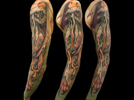 Tattoos - Cthulhu Sleeve - 140676