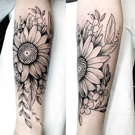 Tattoos - Sunflower - 142339