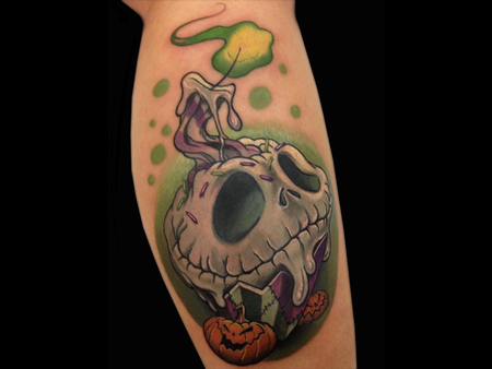 Tattoos - Skellington Cupcake - 140685