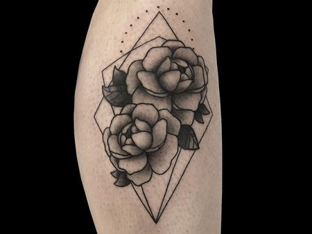 Tattoos - Geometry Flowers - 140718