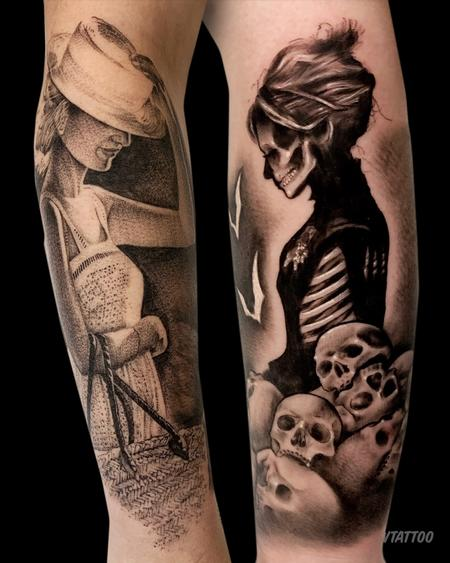 Tattoos - Ladies of Life & Death - 142324