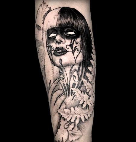 Tattoos - Lady of the Leaves - 142362