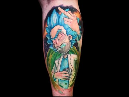 Tattoos - Rick Sanchez - 140693