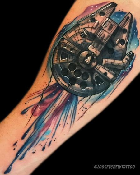 Tattoos - Millenium Falcon - 142268