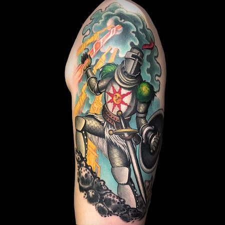 Tattoos - Dark Souls Solaire of Astora - 142361
