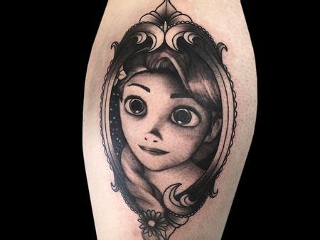 Tattoos - Tangled Rapunzel - 140714