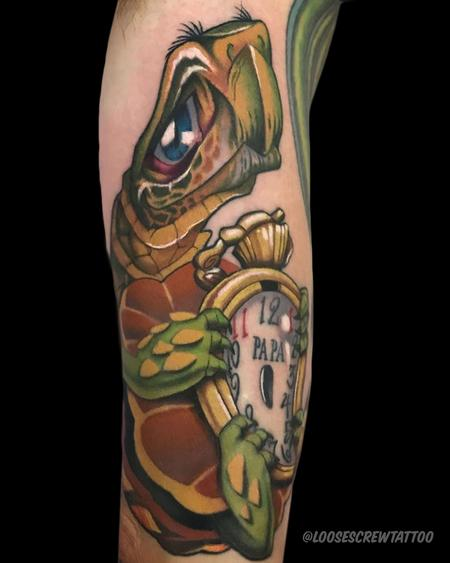Tattoos - Papa Turtle - 142025