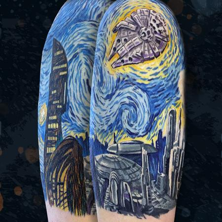 Tattoos - Starry Wars Night - 142403