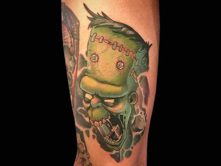 Tattoos - Frankenstein's Monster - 140700