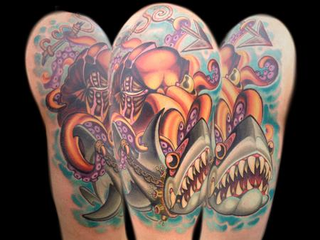 Tattoos - Shark Training - 141471