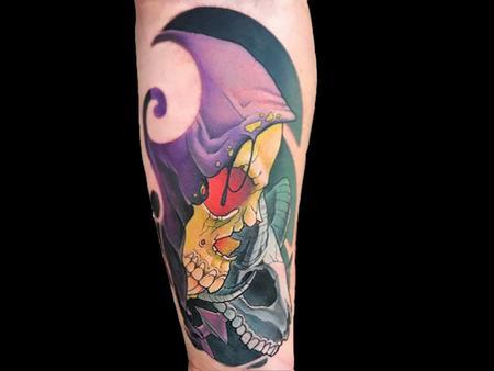Tattoos - Skeletor - 140690