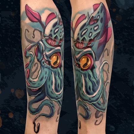 Tattoos - Squid - 142700