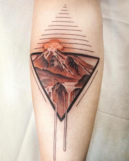 Tattoos - Volcano  - 142340