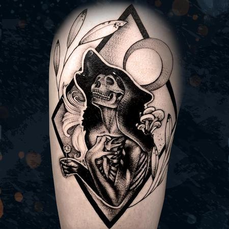 Tattoos - Wolf Lady - 142507