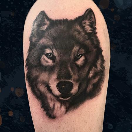 Tattoos - Wolf - 142703