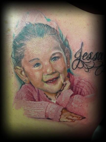 Tattoos - full color portrait  - 49929