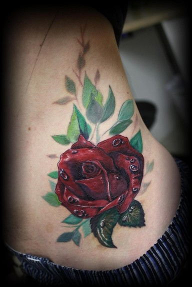 Tattoos - Rose Tattoo - 50416