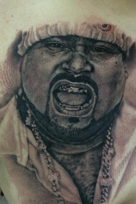 Tattoos - Big Pun Portrait  - 100842