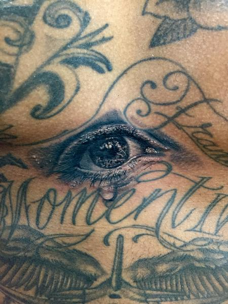 Tattoos - Crying Eye - 101479