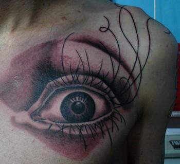 Tattoos - eye tattoo - 49324