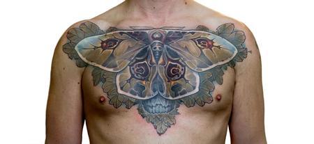 Tattoos - Mothskull - 111549