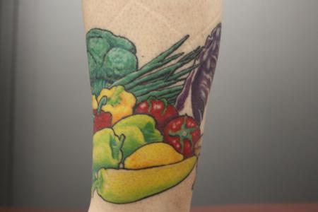 Tattoos - Vegetable Tattoo - 59646
