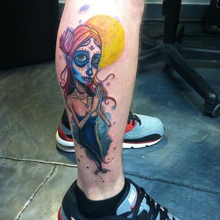 Tattoos - day of the dead girl - 73730