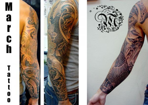 Tattoos - Koi Fish Tattoo - 51839