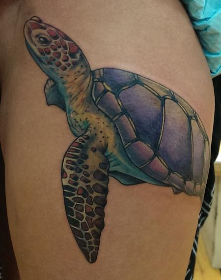 Tattoos - sea turtle - 92188