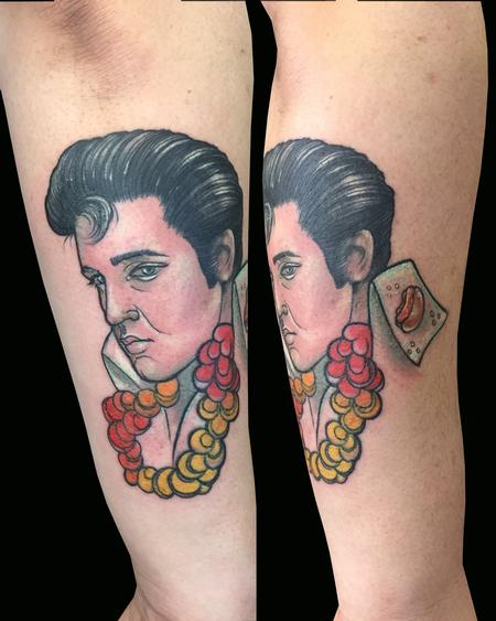 Tattoos - Elvis - 123004