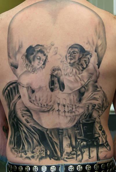 Tattoos - Skull Clown - 55252