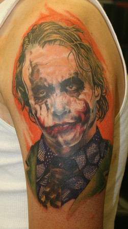Meghan Lee - joker color portrait 1st session