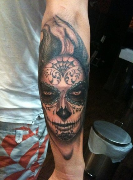 Tattoos - day of the dead girl - 52005