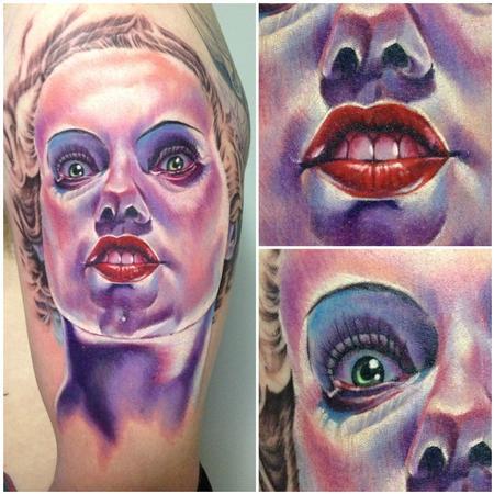 Tattoos - Bride of Frankenstein - 75567