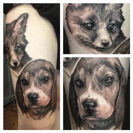 Tattoos - Dogs tattoo - 75565