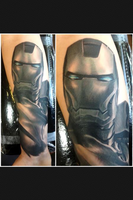 Tattoos - Iron Man Tattoo - 75564