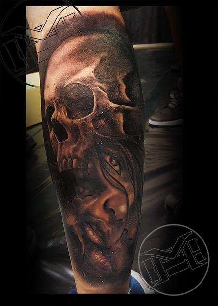 Tattoos - split personality - 115477