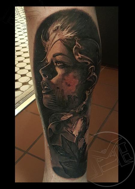 Tattoos - city of ruin - 115480
