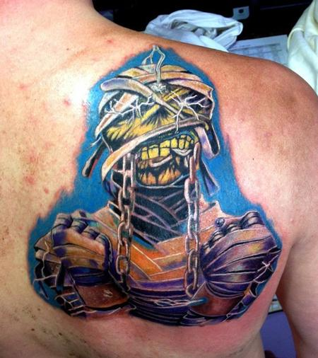 Tattoos - Iron Maiden Mummy tattoo - 79608